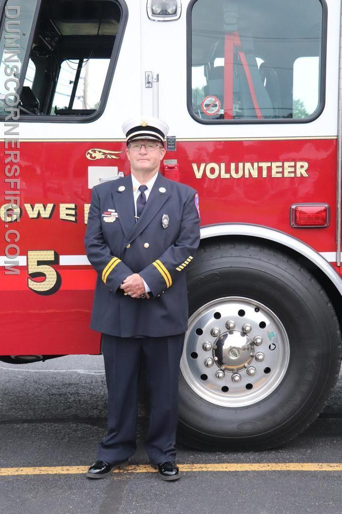 Safety Officer Harold Stedman